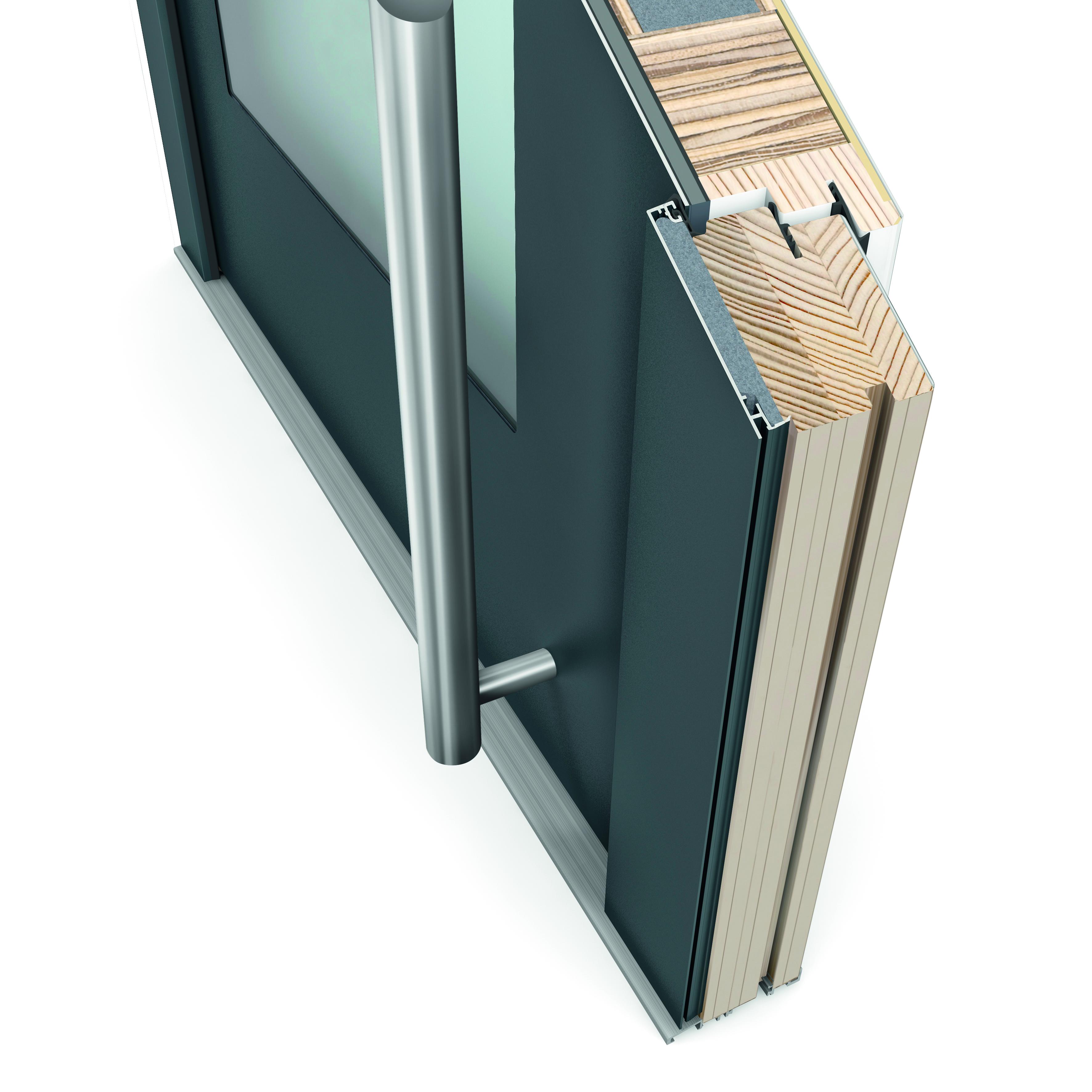 Dřevohliníkové dveře Selection